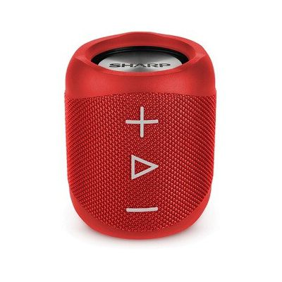 image SHARP GX-BT180(RD) Enceinte Portable Bluetooth IP56 étanche 10 Heures d'autonomie Rouge