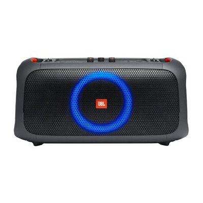 image JBL PartyBox On-The-Go – Enceinte portable Bluetooth de soirée – Avec effets lumineux et micro sans fil – Avec protection anti-éclaboussures – Autonomie 6 hrs – Noir