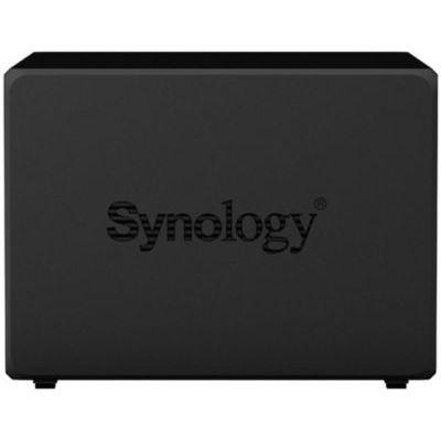 image Synology Disk Station DS1520+ - Serveur NAS - 5 Baies - SATA 6Gb/s - Raid 0, 1, 5, 6, 10, JBOD - RAM 8 Go - Gigabit Ethernet - iSCSI