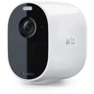 image Arlo Essential - Pack de 1 Caméra de surveillance Wifi Sans fils. Jour/Nuit, Etanche IP65, Intérieur/Extérieur, Batterie 6 mois (VMC2030)