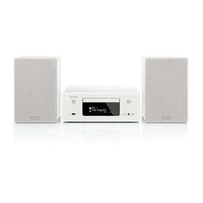 image Mini-chaine HiFi Denon CEOL N-11 DAB Blanc ( Bluetooth, Wi-Fi, 2 x 65 W)
