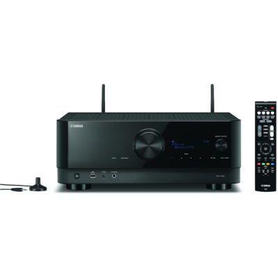 image Yamaha RX-V6A, noir – Amplificateur WiFi avec Dolby Atmos Height Virtualizer, fonctions Gaming et systèmes Voice Control – Système home cinéma 7.2