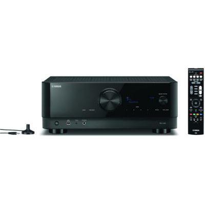 image Yamaha RX-V4A, Noir – Amplificateur WiFi avec son Surround MusicCast, Fonctions Gaming et Systèmes Voice Control – Système Home Cinéma 5.2