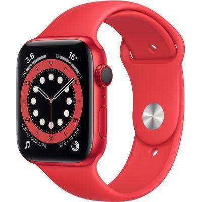 image AppleWatch Series6 (GPS+ Cellular, 44 mm) Boîtier en aluminium PRODUCT(RED), Bracelet Sport PRODUCT(RED)