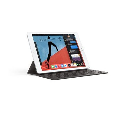 image Apple iPad (10,2 Pouces, Wi-FI + Cellular, 128 Go) - Argent (2020)