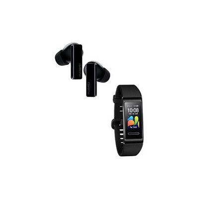 image [Pack] Ecouteurs Huawei FreeBuds Pro Noir + BAND 4 Pro Noir