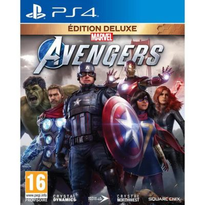 image Marvel's Avengers Deluxe Edition (PS4)