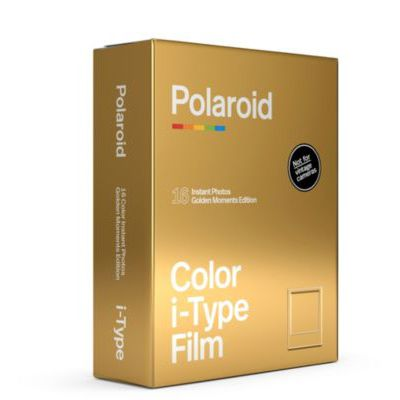 image Polaroid - 6034 - Film Couleur pour i-Type - GoldenMoments Edition - Lot de 2, Couleur pour i-Type - GoldenMoments Double Pack