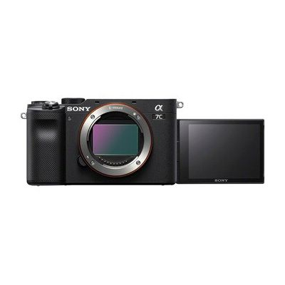 image Sony Alpha 7C | Appareil Photo numérique Hybride à Objectif Interchangeable à capteur Plein Format (Compact et léger, Eye AF en Temps réel, 24,2MP, stabilisation 5 Axes, viseur, écran Selfie)