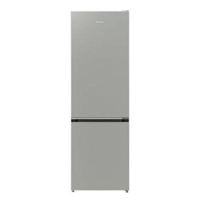 image HISENSE RB410D4BD2 - Réfrigérateur congélateur bas - 314L (206L+108L) - froid brassé et statique - 185x60x59,2 cm - A++ - silver