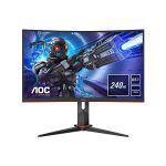 image produit AOC Ecran PC Gamer 27 pouces C27G2ZE/BK - incurvé, VA,  0,5ms, 240Hz - livrable en France