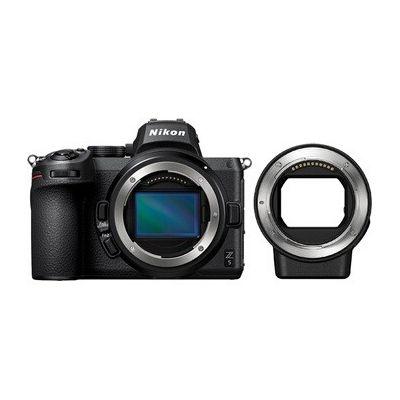 image Nikon Z 5, Appareil Photo Numérique Hybride Plein Format, Boitier Nu + Adaptateur FTZ
