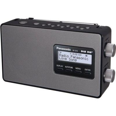 image PANASONIC D10 Radio FM, DAB/DAB+ - 2 W - Noir