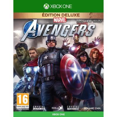 image Marvel's Avengers Deluxe Edition (Xbox One)