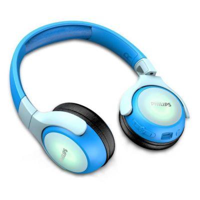 image Philips TAKH402BL - Casque Enfants san fil - Bluetooth - Autonomie de 20h - Bleu
