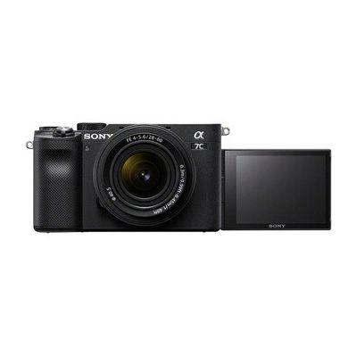 image Sony Alpha 7C | Appareil Photo Numérique Hybride Compact Plein Format + FE 28-60mm f/4-5.6 (Design compact et léger, Eye AF en temps réel, 24.2Mp, stabilisation interne 5 axes, 4K HDR, écran selfie)