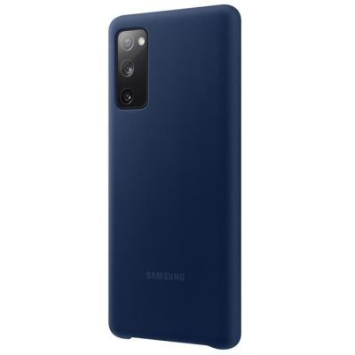 image Samsung Silicone Cover Navy G S20FE Bleu Marine EF-PG780TNEGEU Taille Unique