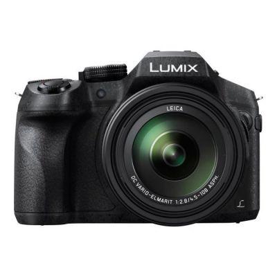 Panasonic Lumix Appareil Photo Bridge Tropicalisé DMC-FZ300EFK (Capteur 12MP, Zoom Lumix 24x, F2.8 constant, Viseur OLED) Noir & Lumix DMW-BLC12E Batterie rechargeable, 7.2V, 1200mAh, 8.7Wh - Noir