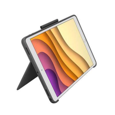 image Étui Clavier Combo Touch Logitech pour iPad Air (3e Génération) et iPad Pro 10,5 Pouces Doté d'un Pavé Tactile, d'un Clavier sans Fil et de la Technologie Smart Connector – Graphite