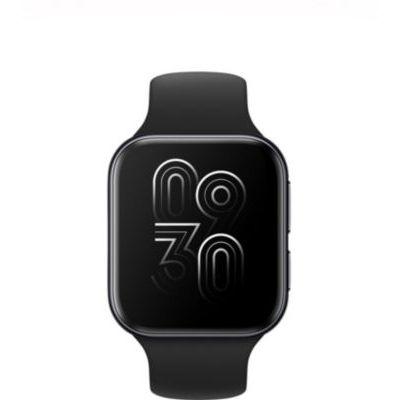 image OPPO Montre connectée 41 mm (écran AMOLED, GPS, NFC, Bluetooth 4.2, WiFi, Wear OS by Google/Coloros, Fonction de Charge Rapide VOOC) Noir