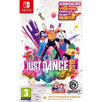 image Jeu Just Dance 2019  sur Nintendo Switch (code à télécharger)