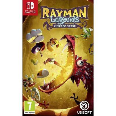 image Rayman Legends Definitive Edition sur Nintendo Switch (code à téléchager)