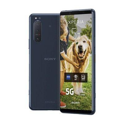 image Sony Xperia 5 II  128 Go Bleu (smartphone avec écran 21:9 CinemaWide | Eye AF en temps réel)