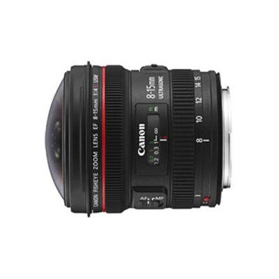 image CANON EF 8-15mm f/4L Fish Eye USM