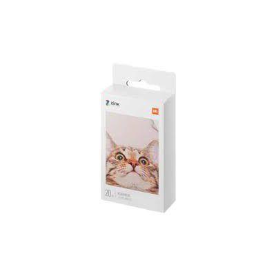 image Xiaomi 20 feuilles de papier photo portable pour imprimante 3 pouces de haute qualité TEJ4019GL