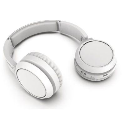 image Philips TAH4205WT - Casque sans fil - Supra aural -  Bluetooth- 32 mm driver - Autonomie de 29h - USB-C-  Blanc
