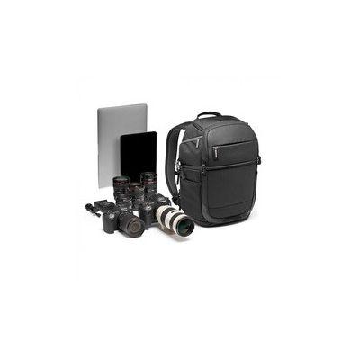image produit Sac à dos Advanced² Fast Manfrotto MB MA2-BP-FM pour Reflex, Hybride et Objectifs + PC Portable - Double Accès Latéral - Séparateurs Rembourrés Convertibles - Sangle pour Trépied - Tissu Protégé