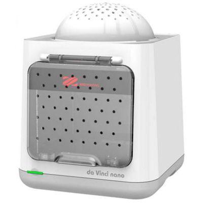 image XYZprinting DaVinci 3FNAXXEU02K Imprimante 3D Da Vinci Nano - Blanc - Portable et légère - Idéal pour Les Enfants