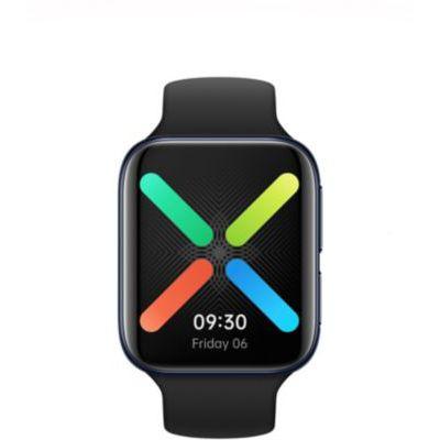 image OPPO Watch Montre connectée 46 mm Noir (Version e-sim) Ecran AMOLED, GPS, NFC, Bluetooth 4.2, WiFi, Wear OS by Google, Fonction de Charge Rapide VOOC