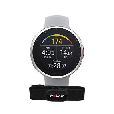 image Polar Vantage V2 et H10 - GPS Montre Connectée Running et Triathlon Premium - Mesure de la Fréquence Cardiaque au poignet pour Course à pied, Natation, Cyclisme - Contrôle de la Musique, Météo