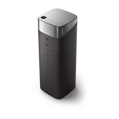 image Philips 2020/2021 Haut-parleur Bluetooth S7505/00 avec fonction Power Bank (Bluetooth 5.0, étanche IPX7, couplage stéréo, 20 heures d'autonomie, pilote large bande 3,75 pouces) Gris