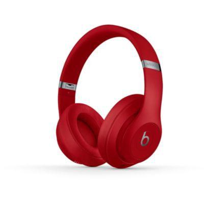 image Beats Studio3 Casque sans Fil avec réduction du Bruit active - Puce Apple W1, Bluetooth - Rouge