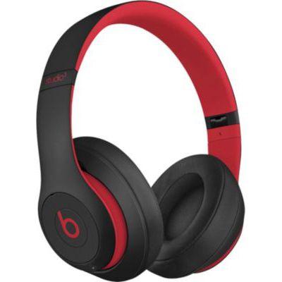 image Beats Studio3 Casque sans fil avec réduction du bruit active - Puce Apple W1, Bluetooth - Noir-Rouge Défi
