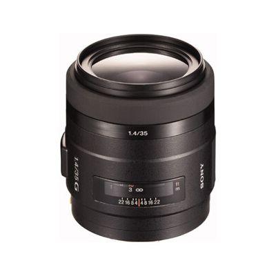 image Sony Objectif G SAL-35F14G Monture A Plein Format 35 mm F1.4