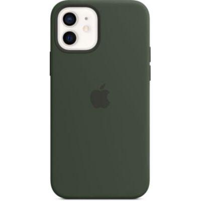 image Apple Coque en Silicone avec MagSafe (pour iPhone12, 12Pro) - Vert de Chypre