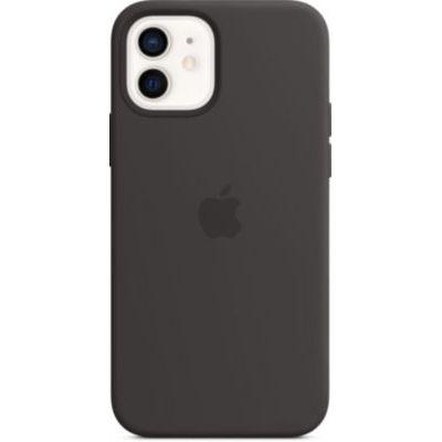 image Apple Coque en Silicone avec MagSafe (pour iPhone12, 12Pro) - Noir
