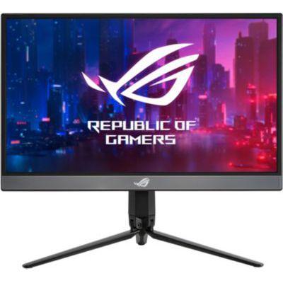 "image ASUS ROG XG17AHP - Ecran PC gaming portable 17,3"" FHD - Dalle IPS - 16:9 - 240Hz - 3ms - 1920x1080 - 300cd/m² - 2x USB-C et 1x Micro HDMI - Adaptive Sync - Batterie - Haut-parleurs - ROG Tripod"