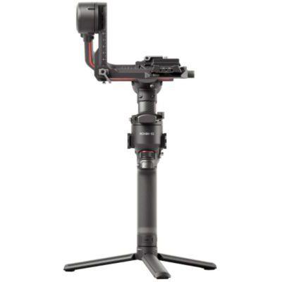 image DJI RS 2 - Stabilisateur Gimbal 3 Axes pour Caméras Sans Miroir et DSLR, Nikon Sony Panasonic Canon Fujifilm, Ronin S, Charge Utile 4,5 kg, Fibre de Carbone, Écran Tactile - Noir