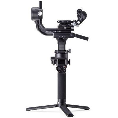 image DJI RSC 2 Pro Combo - Stabilisateur Gimbal 3 Axes pour Caméras Sans Miroir et DSLR, Nikon Sony Panasonic Canon Fujifilm, Ronin SC, Charge 3kg, Trasmetteur d'Images, Système de Mise au Point - Noir