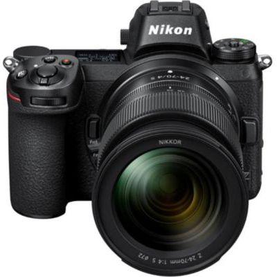 image Nikon Z 6II + Objectif Z 24-70 f/4, Appareil Photo Numérique Hybride Plein Format (24,5 MP, 4K/30p, rafale 14 i/s, stabilisation sur capteur 5 axes, double slots SD & XQD ou CFexpress)