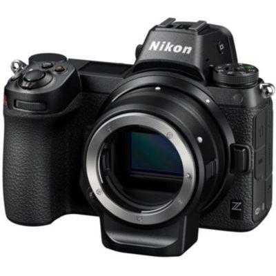 image Nikon Z 6II + bague d'adaptation FTZ, Appareil Photo Numérique Hybride Plein Format (24,5 MP, 4K/30p, rafale 14 i/s, stabilisation sur capteur 5 axes, double slots SD & XQD ou CFexpress)