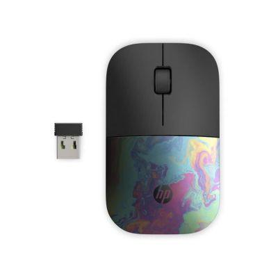 image HP Z3700 - Souris Sans Fil Noir/Pétrole (USB, 1200 DPI, Ambidextre)