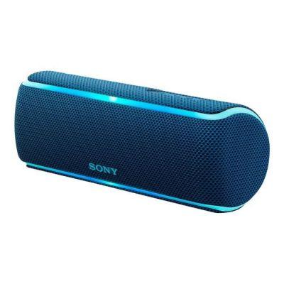 image Sony SRS-XB21 Enceinte portable sans fil Bluetooth Waterproof avec effet lumineux - Bleu