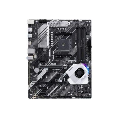 image ASUS Carte Mère Gaming Prime X570-P AMD AM4 Ryzen 3000 (12 DrMOS power stages PCIe 4.0 M.2 DDR4 HDMI CFX SATA USB 3.2 Gen 2 Aura Sync RGB header ATX)