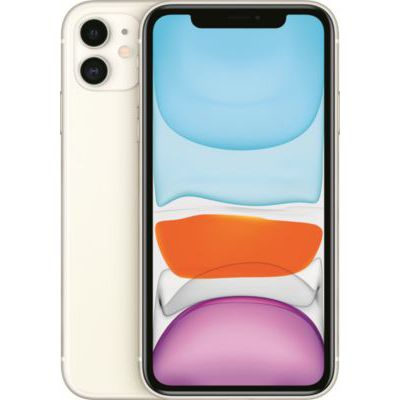 image Apple iPhone 11 (256Go) - Blanc