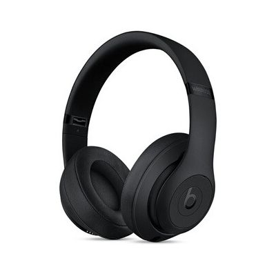 image Beats Studio3 Casque sans Fil avec réduction du Bruit - Puce Apple W1, Bluetooth Classe 1 - NoirMat
